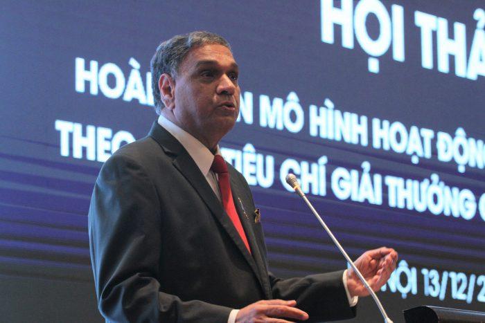 Đẩy mạnh áp dụng các tiêu chí của Giải thưởng Chất lượng quốc gia, hoàn thiện mô hình hoạt động cho DN Việt